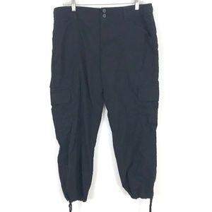 Anthro Sanctuary cargo pants drawstring ankle